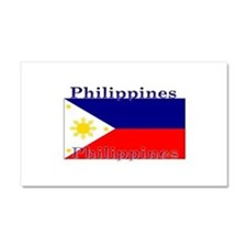 Philippines Filipino Flag Car Magnet 12 x 20
