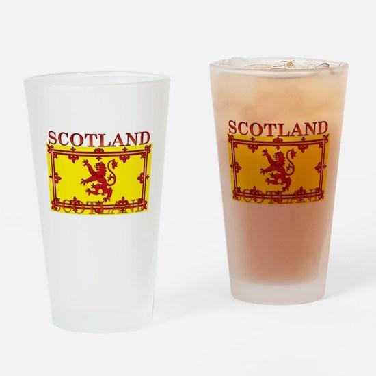 Scotland Scottish Flag Pint Glass