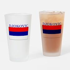 Djokovic Serbia Serbian Pint Glass