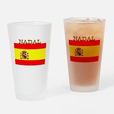 Nadal Spain Spanish Flag Pint Glass