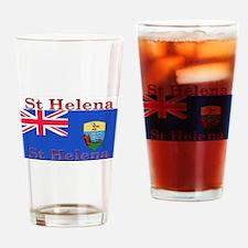 St Helena Pint Glass