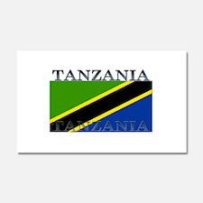 Tanzania Car Magnet 12 x 20
