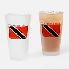 Trinidad & Tobago Flag Pint Glass