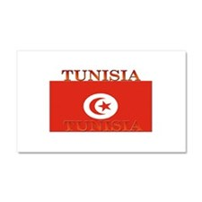 Tunisia Tunisian Flag Car Magnet 12 x 20