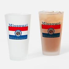 Missouri State Flag Pint Glass