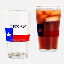 Texas Texan State Flag Pint Glass