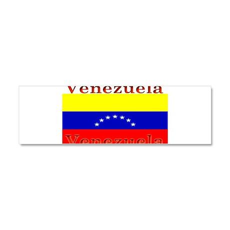 Venezuela Venezuelan Flag Car Magnet 10 x 3