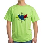 Middle East Crosshairs Green T-Shirt