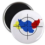 Middle East Crosshairs Magnet