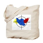Middle East Crosshairs Tote Bag