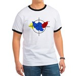 Middle East Crosshairs Ringer T