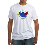 Middle East Crosshairs Fitted T-Shirt