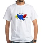Middle East Crosshairs White T-Shirt