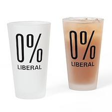 0% Liberal Pint Glass