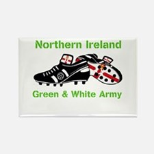 Northern Ireland Football Rectangle Magnet