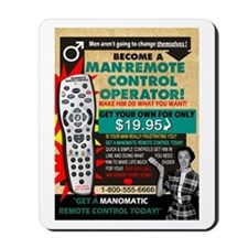 ManOMatic Remote Control Mousepad