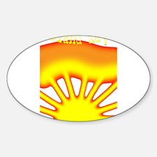 SUNRISE ISLAND RAYS Decal