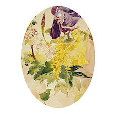 Edouard Manet Art Ornament (Oval)
