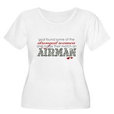 Cool Airforce girlfriend T-Shirt