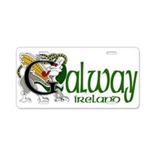 Galway Aluminum License Plate