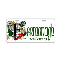Fermanagh Aluminum License Plate