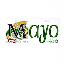 Mayo Aluminum License Plate