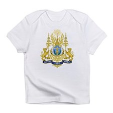 Cambodia Coat Of Arms Infant T-Shirt
