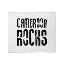 Cameroon Rocks Throw Blanket