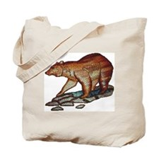 BEAR HUNTING_MOSIAC_3D LOOK_ Tote Bag