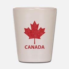 Vintage Canada Shot Glass