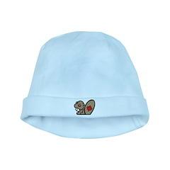 Canada Beaver baby hat