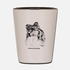 Shetland Sheepdog Shot Glass