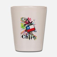 Flower Chile Shot Glass