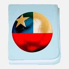 Chile Football baby blanket