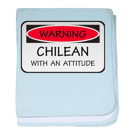 Attitude Chilean baby blanket