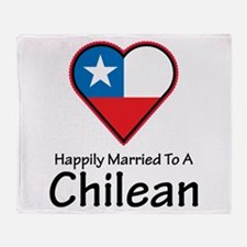 Happily Married Chilean Throw Blanket