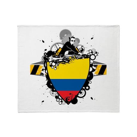 DJ Colombia Throw Blanket