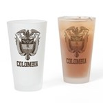 Vintage Colombia Pint Glass