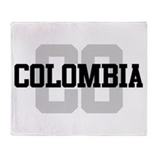 CO Colombia Throw Blanket