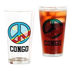 Peace Congo Pint Glass