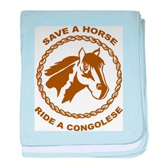 Ride A Congolese baby blanket