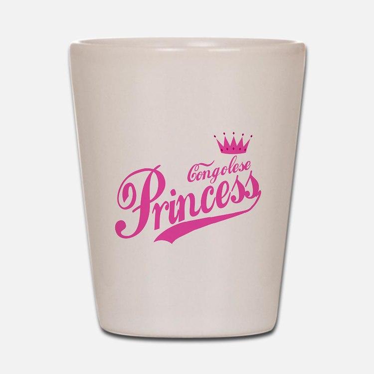 Congolese Princess Shot Glass