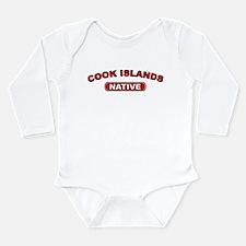 Cook Islands Native Long Sleeve Infant Bodysuit