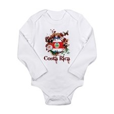 Butterfly Costa Rica Long Sleeve Infant Bodysuit