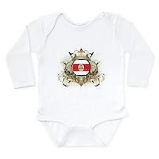 Stylish Costa Rica Long Sleeve Infant Bodysuit