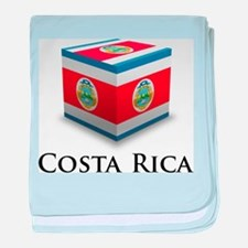 Costa Rica Cube baby blanket