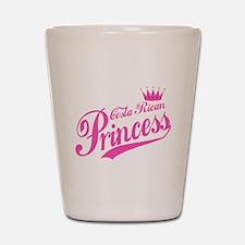 Costa Rican Princess Shot Glass