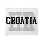 HR Croatia Throw Blanket
