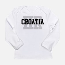 HR Croatia Long Sleeve Infant T-Shirt