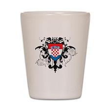 Stylish Croatia Shot Glass